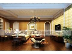 托斯卡纳客厅集成墙面欧美风情