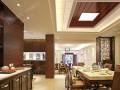 云时代全屋整装中式餐厅装修效果图赏析
