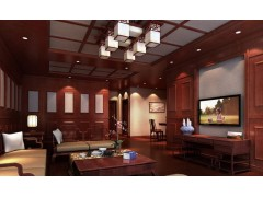 美赫集成墙面-中式客厅系列