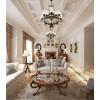 星雅图顶墙集成欧式风格-复古客厅