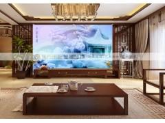 东方乐艺全屋整4D玉石精雕背景-装紫气东来