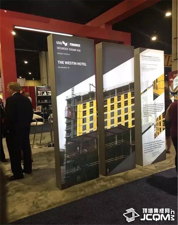 中国鼎美参加美国幕墙吊顶工业协会(AWCI)2019INTEX EXPO展会