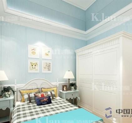 凯兰集成墙面效果图,客厅顶墙集成装修效果图