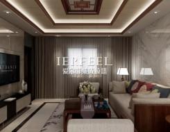 爱尔菲集成顶墙新中式风格装修效果图