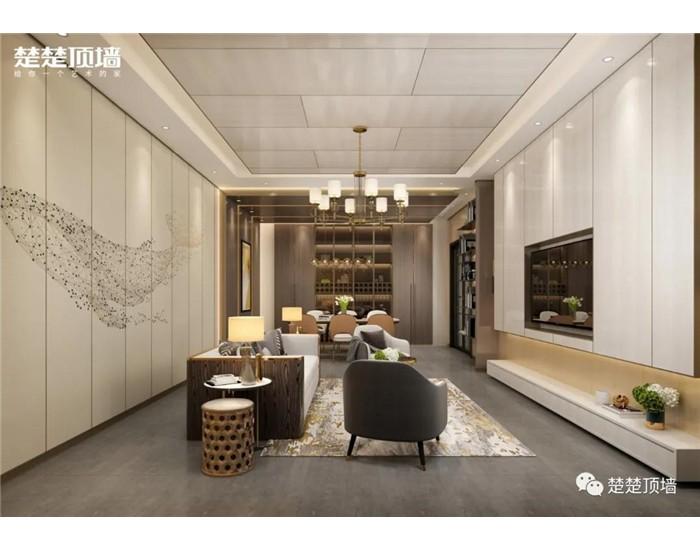"""选择楚楚顶墙打造的客厅空间,想要什么风格都能满足你,让客厅成为""""门面担当"""" (1018播放)"""