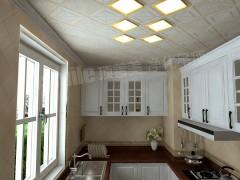 顶善美净化吊顶厨房空间装修效果图