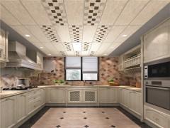 锦绣明天吊顶厨房装修效果图,厨房吊顶装修图