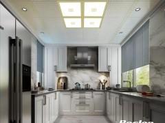 宝仕龙全景顶厨房大板装修效果图
