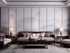 品格抗菌健康背景墙装修图,现代风格装修效果图