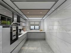 鼎美顶墙集成厨房装修图,现代简约风格装修效果图