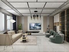 鼎美顶墙集成-大板系列-现代客厅