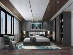 鼎美顶墙集成-大板系列-意式轻奢卧室