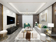 巴迪斯精工顶墙轻奢风装修图片,家居吊顶效果图
