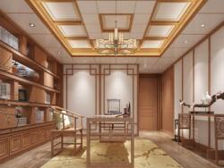 欧斯宝墙板-新中式风格光合木墙板