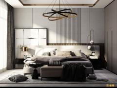金牌速装卧室装修图片,卧室现代简约效果图