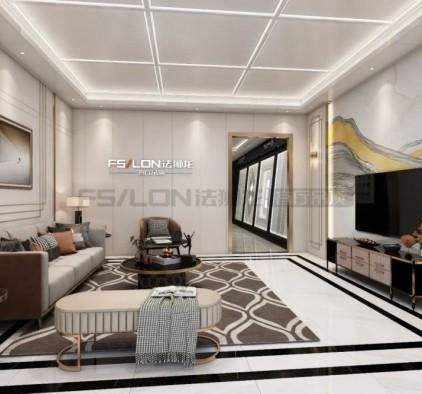 法狮龙客厅吊顶装修图片 欧式风格客厅装修效果图