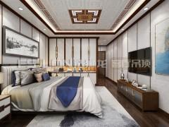 法狮龙客厅吊顶装修图,新中式卧室装修效果图