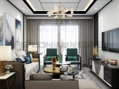 法狮龙客厅吊顶121㎡中式风格吊顶效果图