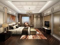 德莱宝卧室集成墙面装修效果图,中式卧室图片