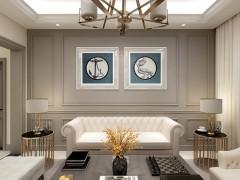 金迪门墙图片,简欧风格集成墙面装修效果图