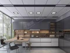 明顶顶墙定制新中式风格吊顶装修效果图