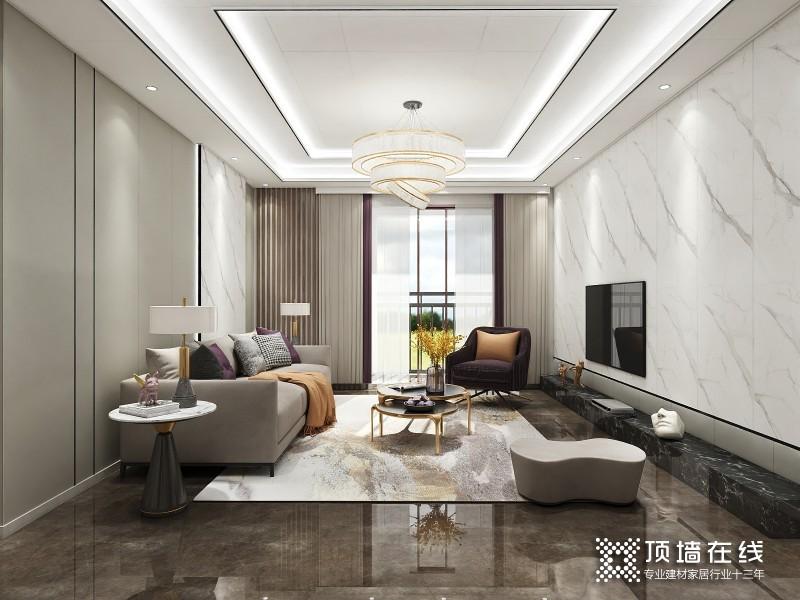 典雅白客厅
