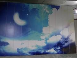 饰纪上品好看的A级背景墙设计,铝蜂窝墙板装饰舒适生活空间