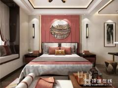 世纪豪门吊顶墙面使新中式更趋于实用,更富现代感