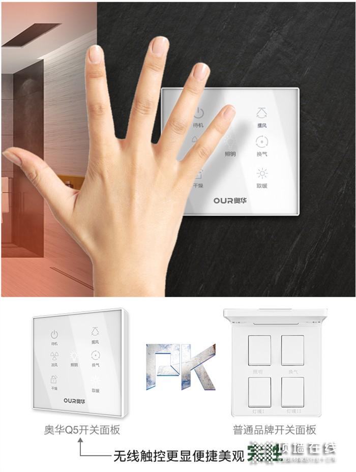 奧華鏡界Q5浴室取暖器,讓您酷爽沐??!