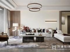 艾格木全屋定制155㎡新中式三房丨现代简洁的中式美!