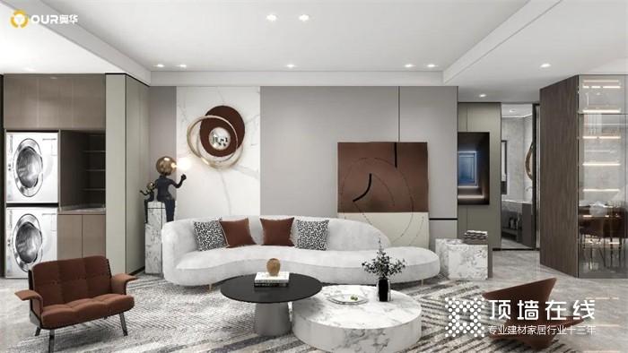 奥华3套家装案例 带你体验从精装房到大别墅的别样快乐!
