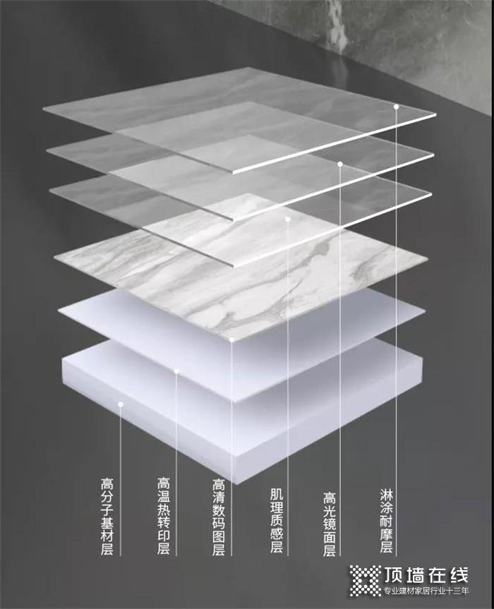 巨好用!世纪豪门超薄人造石数码岩板,真正实现隐形缝效果~