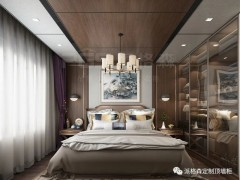派格森全屋吊顶新中式风格装修效果图,每一面都很美!